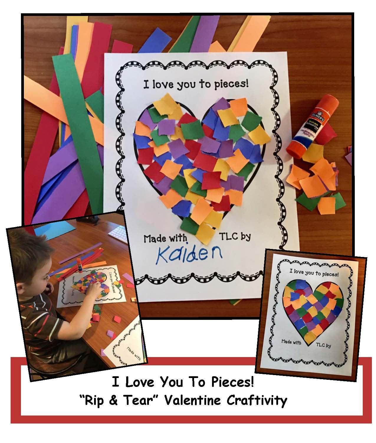 I Love You To Pieces Writing Prompt Craft With Images