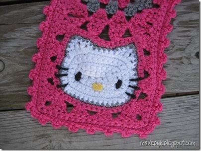 Cute hello kitty scarf | Crochet tips and tricks | Pinterest ...