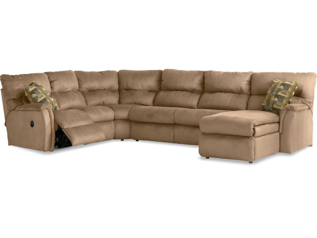 La Z Boy Living Room Griffin Sectional 596 Sectional   Habegger Furniture  Inc