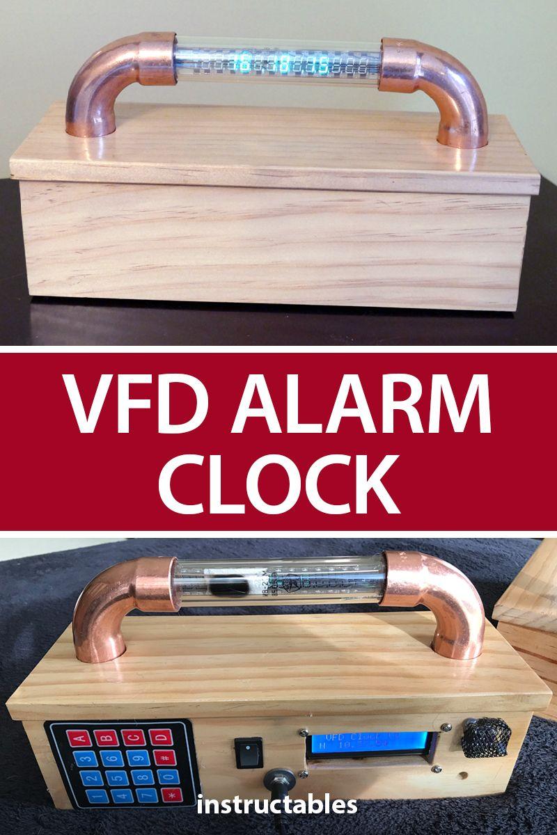 VFD Alarm Clock | Arduino | Arduino, Clock, Useful arduino projects