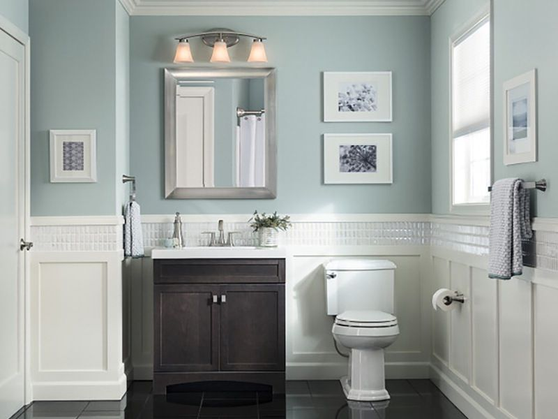 Vanities For Half Bath style selections drayden grey integral single sink bathroom vanity
