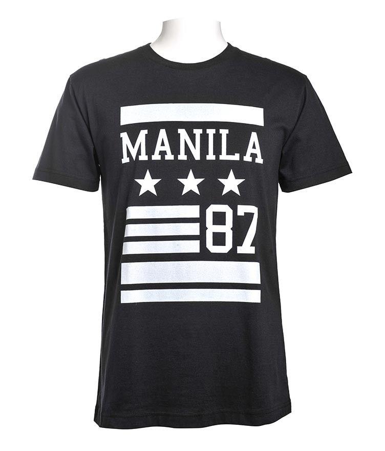 Men Apparel T Shirts Tees Manila 87 Tee Bench Online Store Tee Shirts Mens Outfits Mens Tops