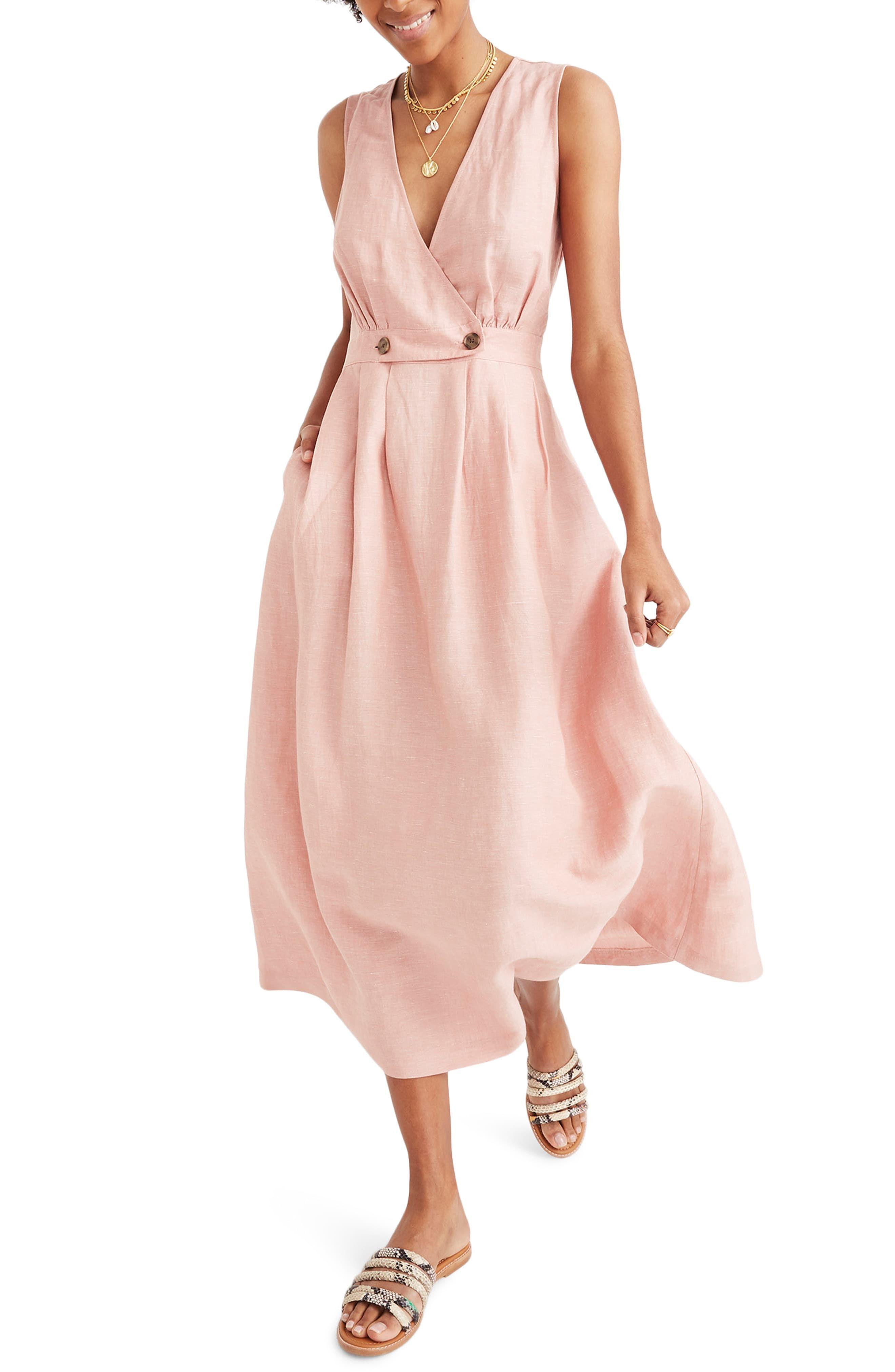 Women S Madewell Button Waist Midi Dress Size 0 Coral Sexydressoutfits Madewell Dresses Midi Dress Online Shopping Fashion Dresses [ 4048 x 2640 Pixel ]