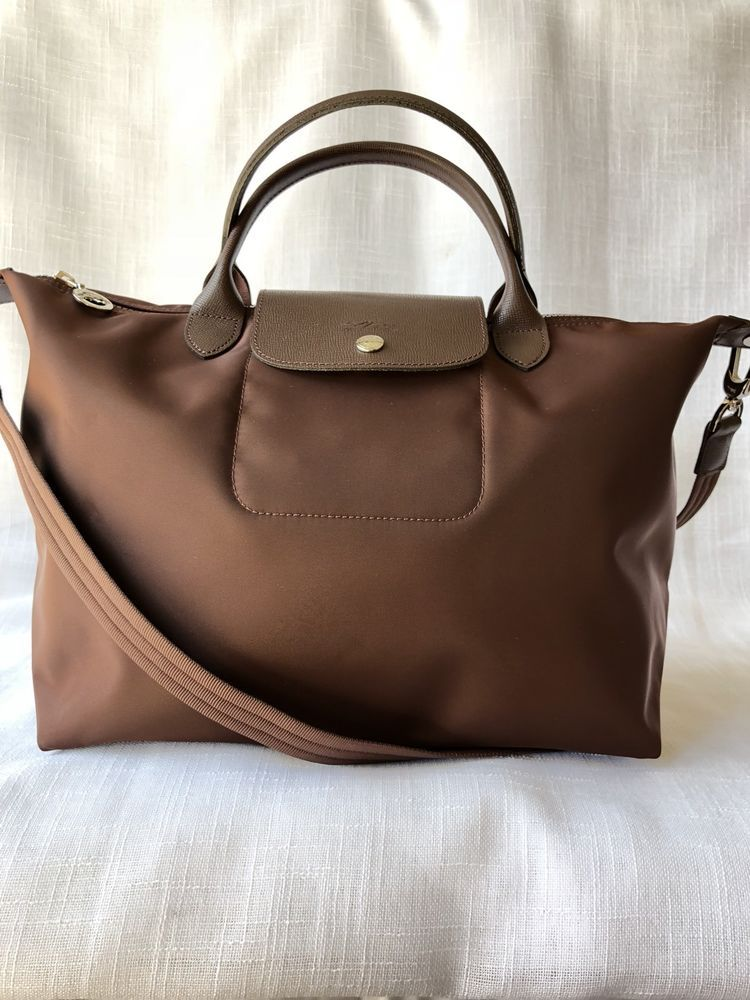 1cf46b11b8 Longchamp Le Pliage Neo Medium Tote Chocolat Short Handle Crossbody Bag   fashion  clothing  shoes  accessories  womensbagshandbags  ad (ebay link)