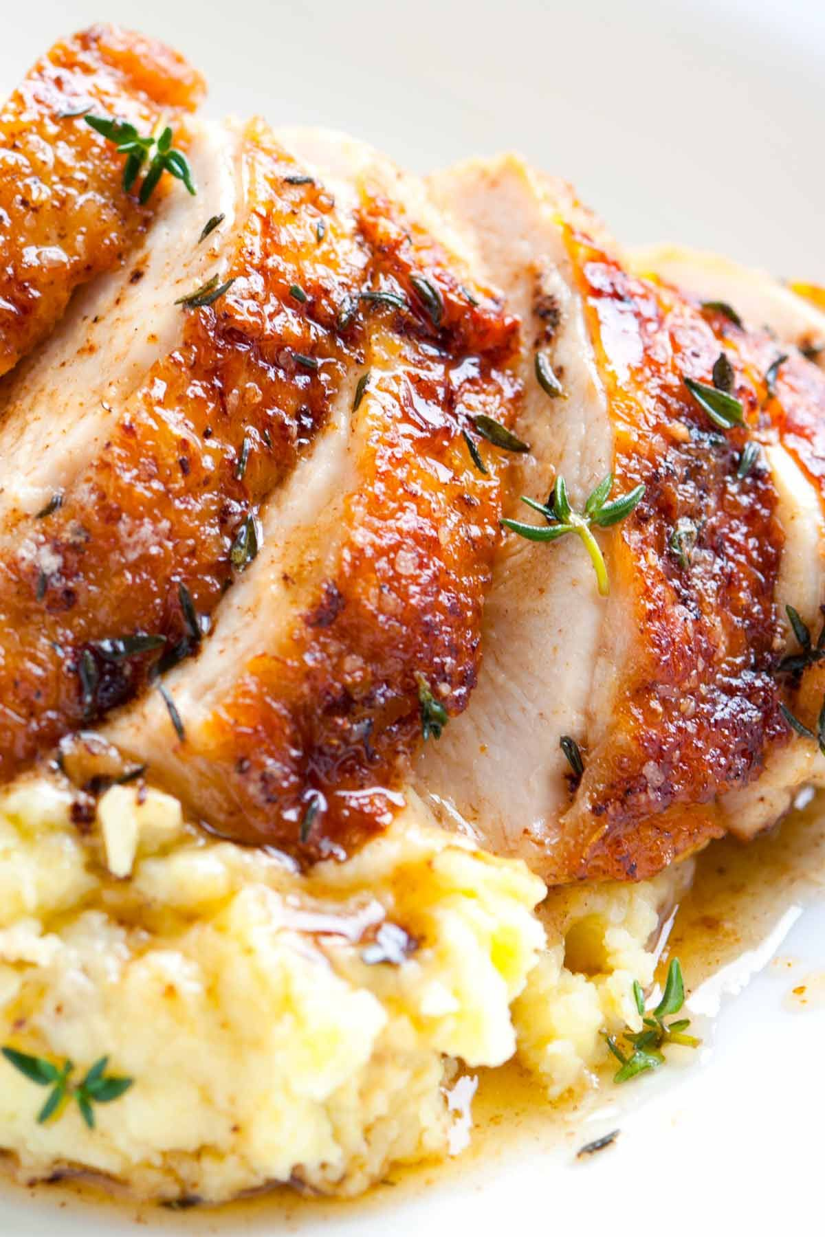 Easy Pan Roasted Chicken Breasts With Thyme Recipe Thyme