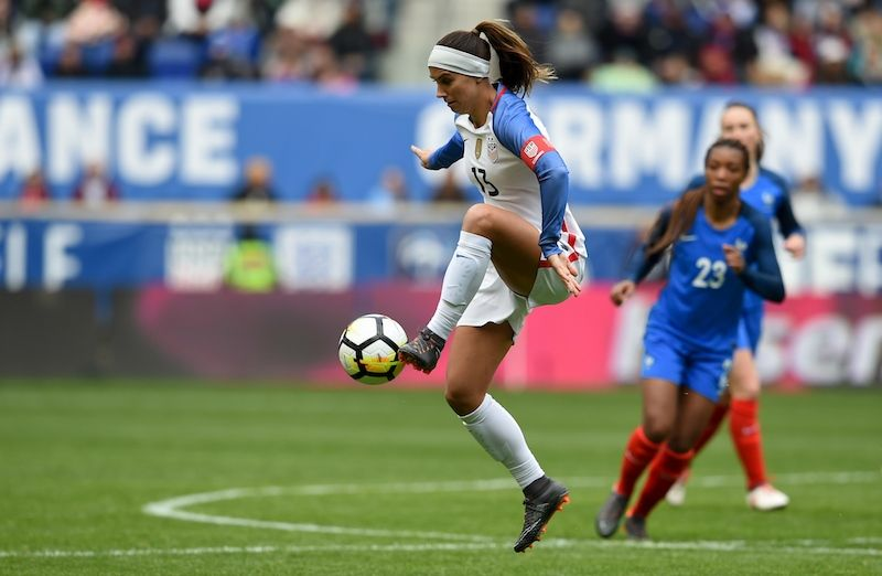designer fashion ee9ba 3a24b GALLERY: WNT Draws France 1-1 in Second Match of 2018 ...