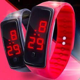 3c59647d3edc Reloj LED Reloj deportivo de moda Reloj digital Reloj deportivo de pulsera  con correa de silicona