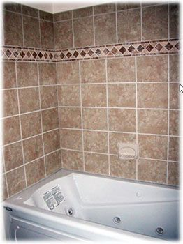 types of tile for tub surround google search bathroom. Black Bedroom Furniture Sets. Home Design Ideas