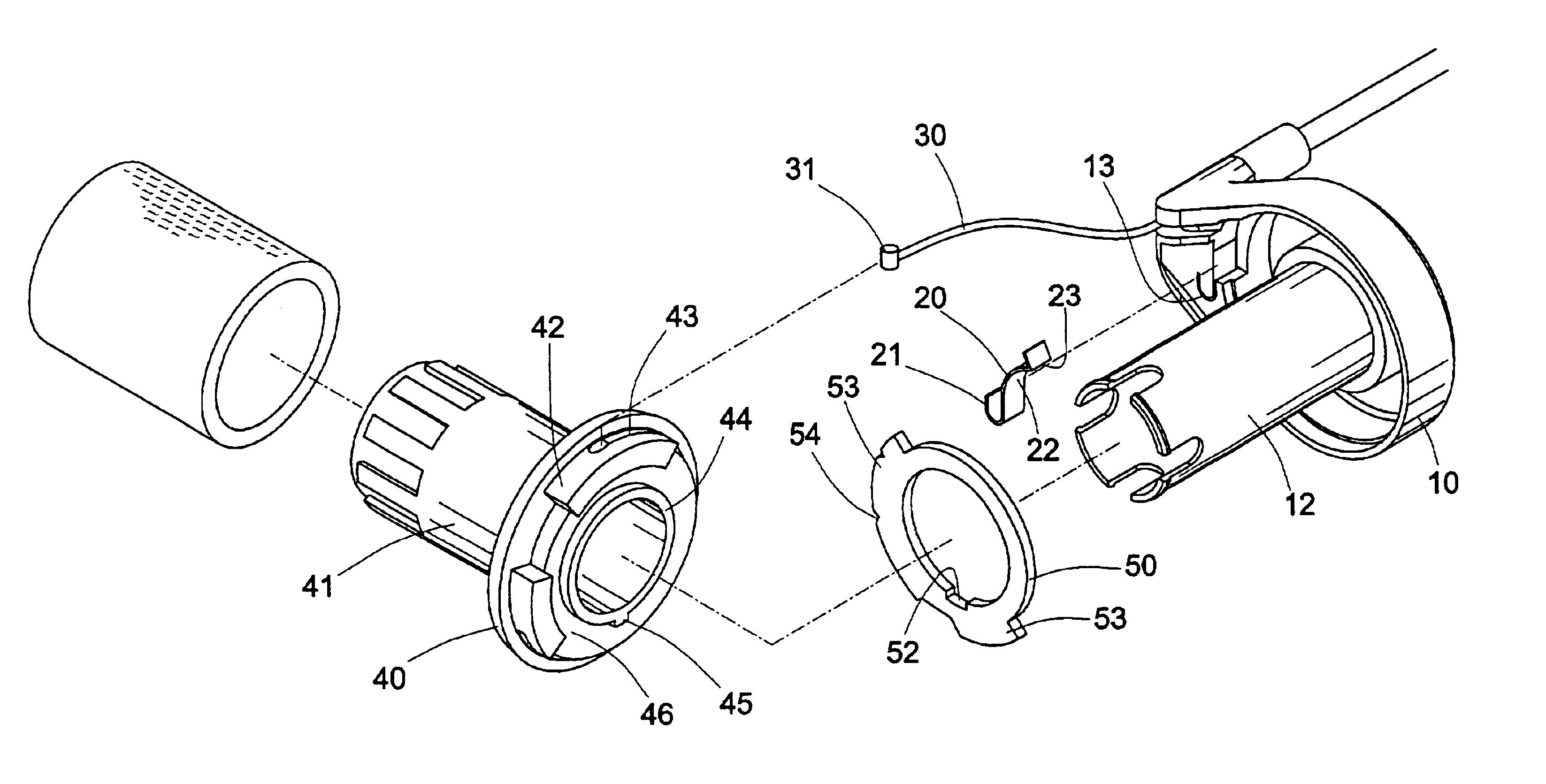 bike parts diagram 2001 honda civic alternator wiring handlebar shifter device for operating bicycle derailleur