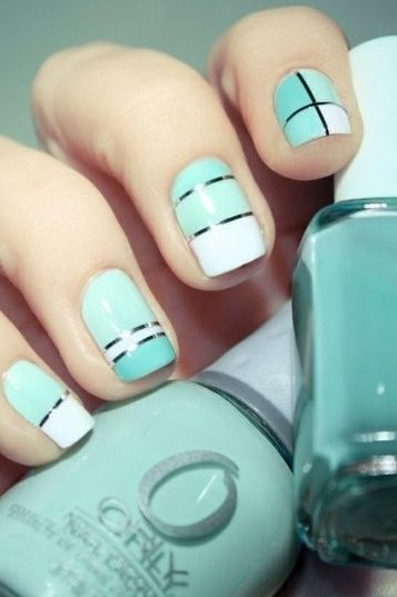 So um yeah...I need some nail striping tape in my life. This is ...