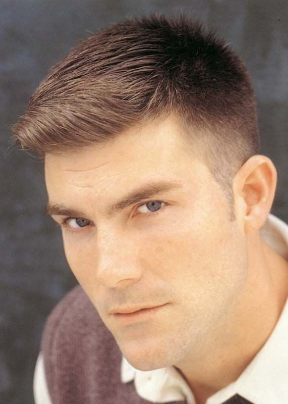 Hairstyle For Men To The Back Side 571