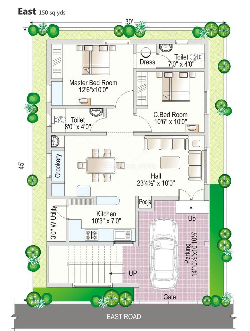21 Indescribable Home Plans Indian 3bhk For Your Elegant Design Indian House Plans 2bhk House Plan Duplex House Plans