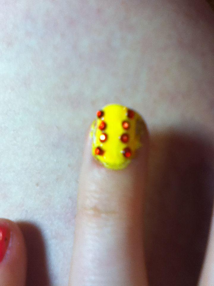 My softball nails | Softball nails, Nails, Hair, nails
