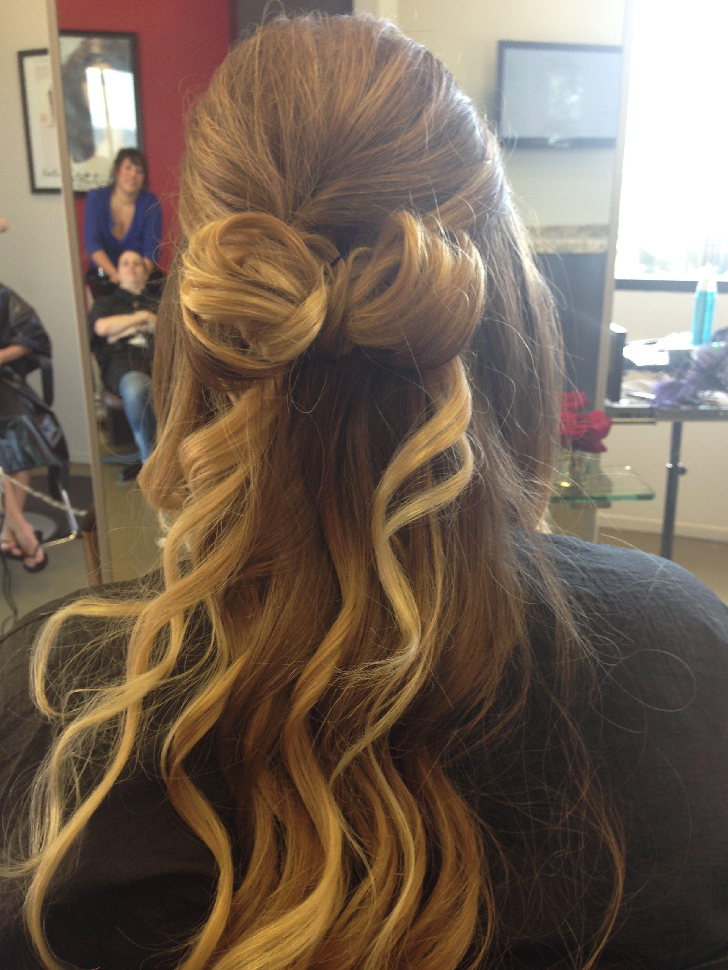 #prom #hair bow