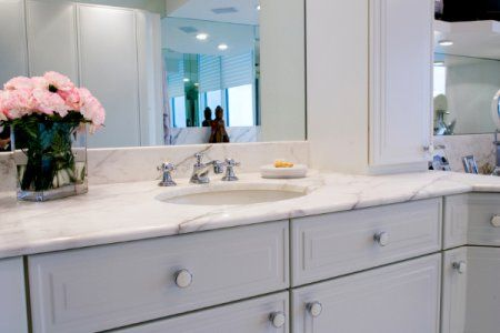Lovely Follow These Steps To Raise A Bathroom Vanity.