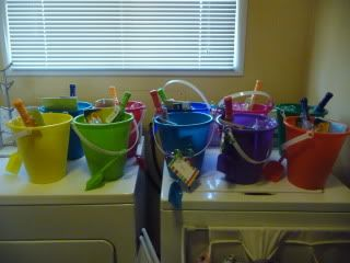Pool Party Gift Bag Ideas diy pool party ideas Love These Loot Bag Idea For A Beachpool Party Theme