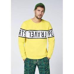 Photo of Chiemsee Sweatshirt mit umlaufendem Chiemsee Print – Gots zertifiziert, Größe 2xl in Aurora, Größe 2