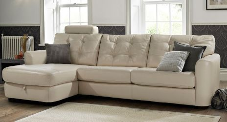 Awesome Cryptic 3 Seater Sofa With Chaise Longue In Pale Grey Pdpeps Interior Chair Design Pdpepsorg