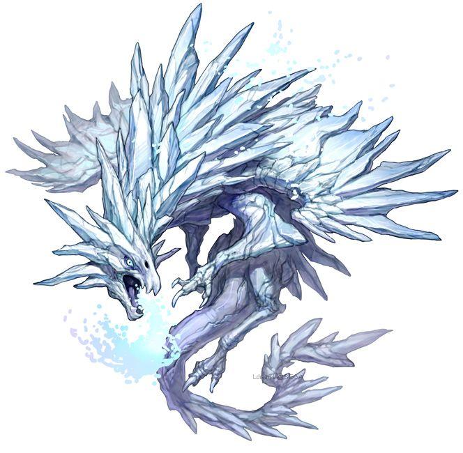 アイスドラゴン kingdom conquest animaux légendairs pinterest