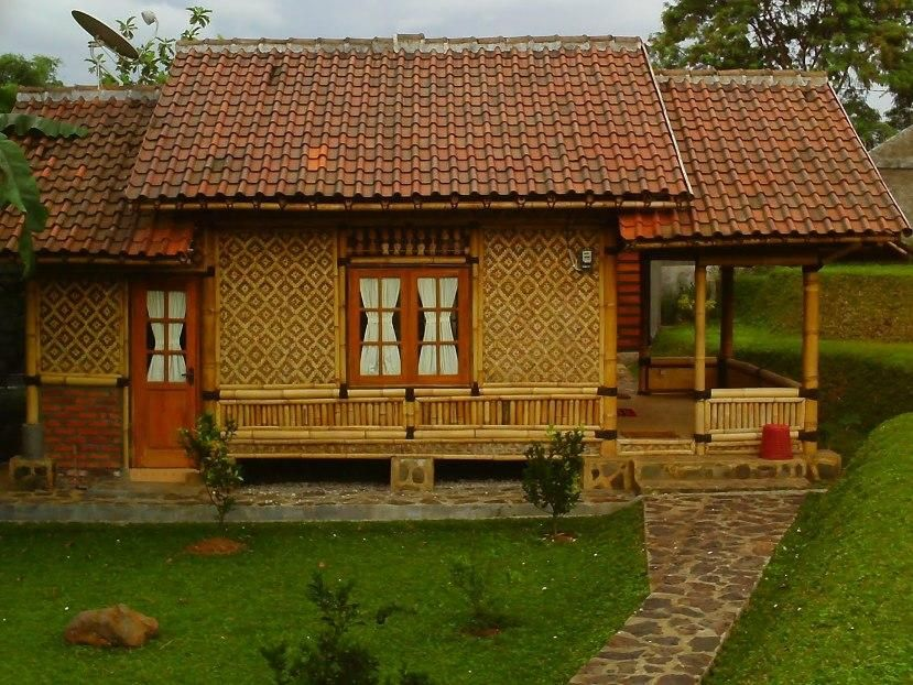Simple Bamboo House Design Idea Photo | Great Home Design Ideas ...
