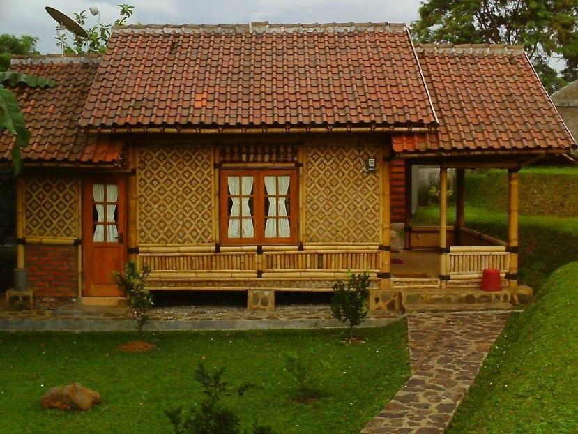 Simple Bamboo House Design Idea Photo Bamboo house