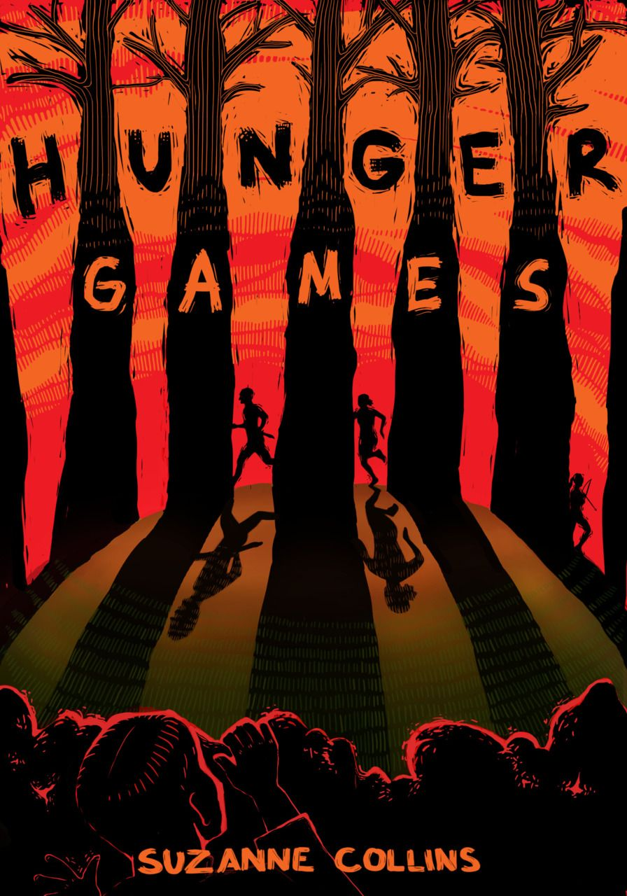 Really Cool Book Covers : This is a very cool fan made cover for the hunger games