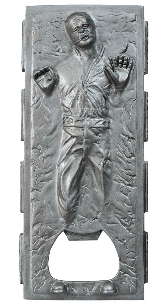 Star Wars Han Solo in Carbonite Flaskeåpner laget av solid metall ...