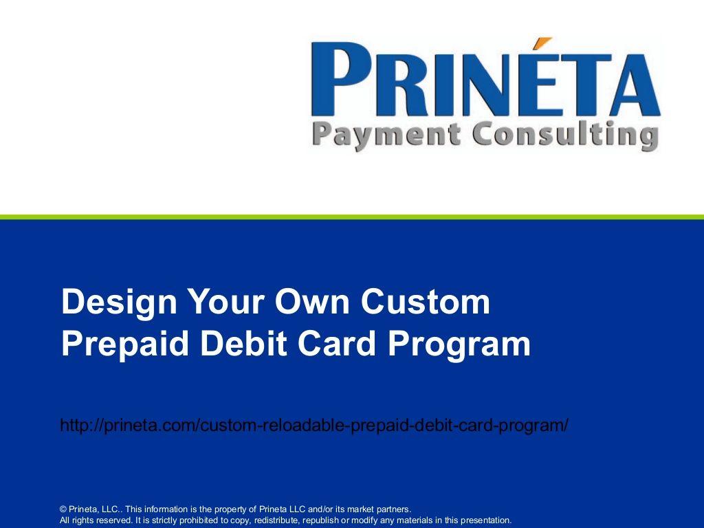 design your own custom reloadable prepaid debit card
