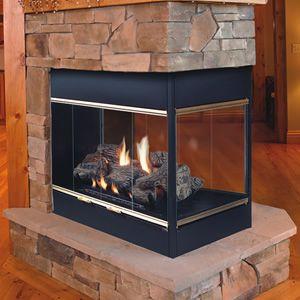 Prodigy Peninsula B Vent Fireplace Gas Fireplace Vented Gas