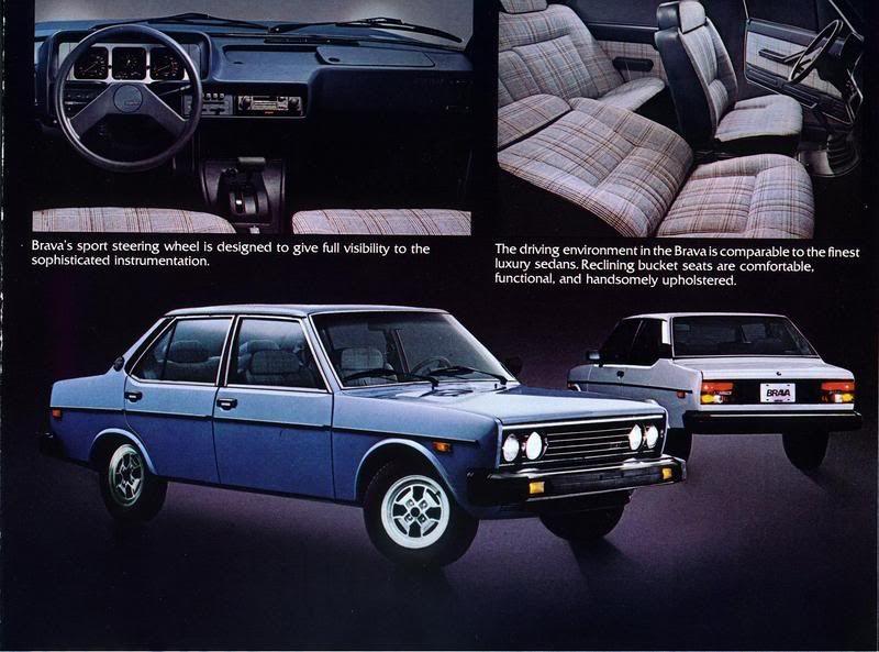 Sturm Und Drang Design Fiat 131 Brava Goruntuler Ile