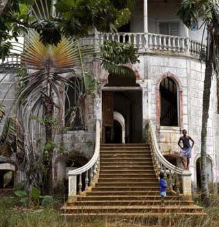 Derelict Hospital Sao Tome E Principe Princesas S Tome E