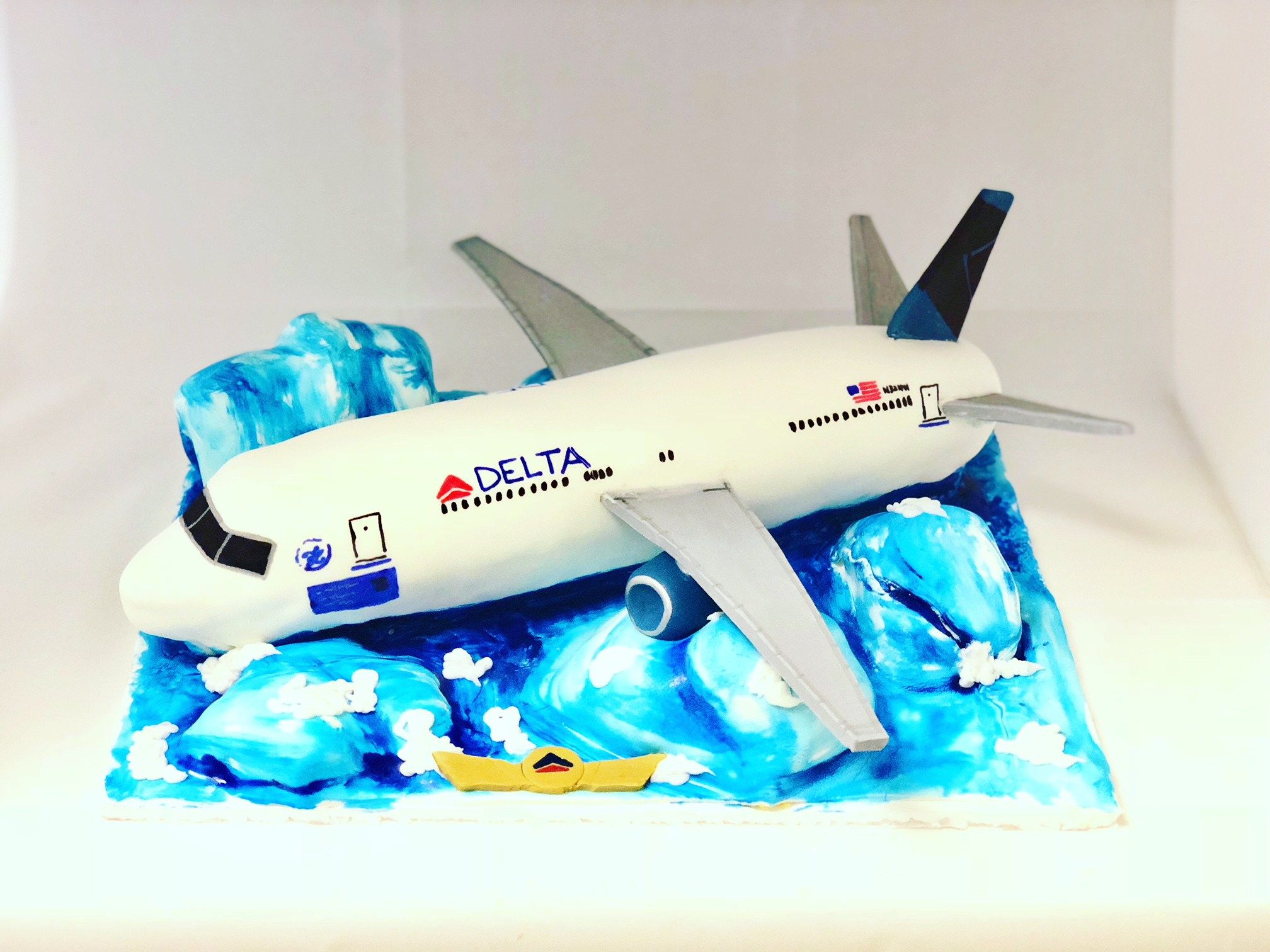 Airplane Cake MB-131 Airplane Cake MB-131 – Confection Perfection Cakes Online Ordering