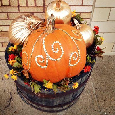 halloween ideas - Fall Pumpkin Decorations