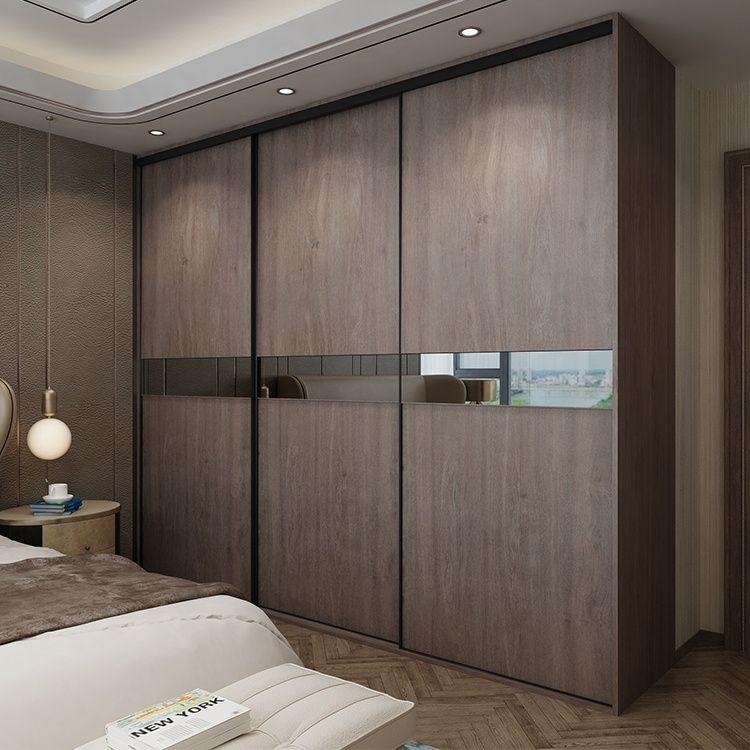 Project Modern Design High Quality Sliding Doors Bedroom Wardrobe