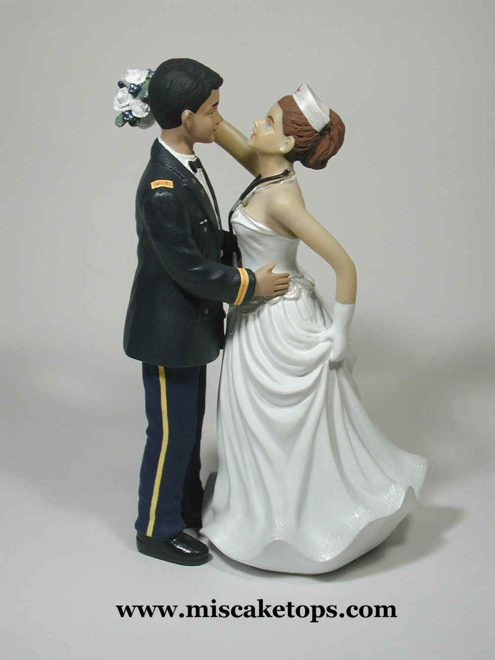 military wedding cake toppers army customized cake toppers army officer amp 17374