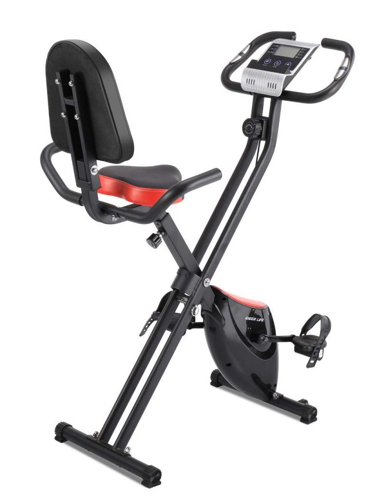 Ideer Foldable Upright Magnetic Exercise Bike 09027 And 09028