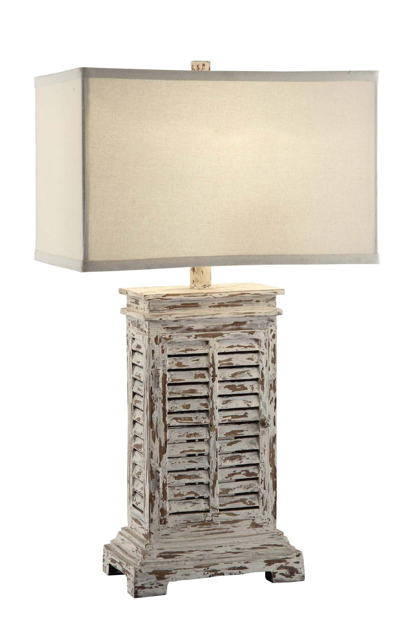 Crestview collection shutter table wood furniture and solid wood antique shutter table lamp crestview collection home gallery stores geotapseo Gallery