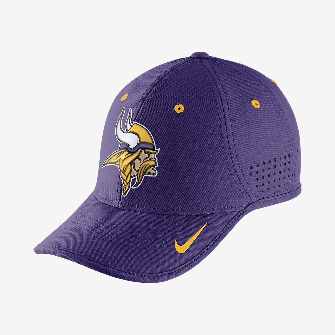 Nike True Vapor (NFL Vikings) Adjustable Hat. Nike.com