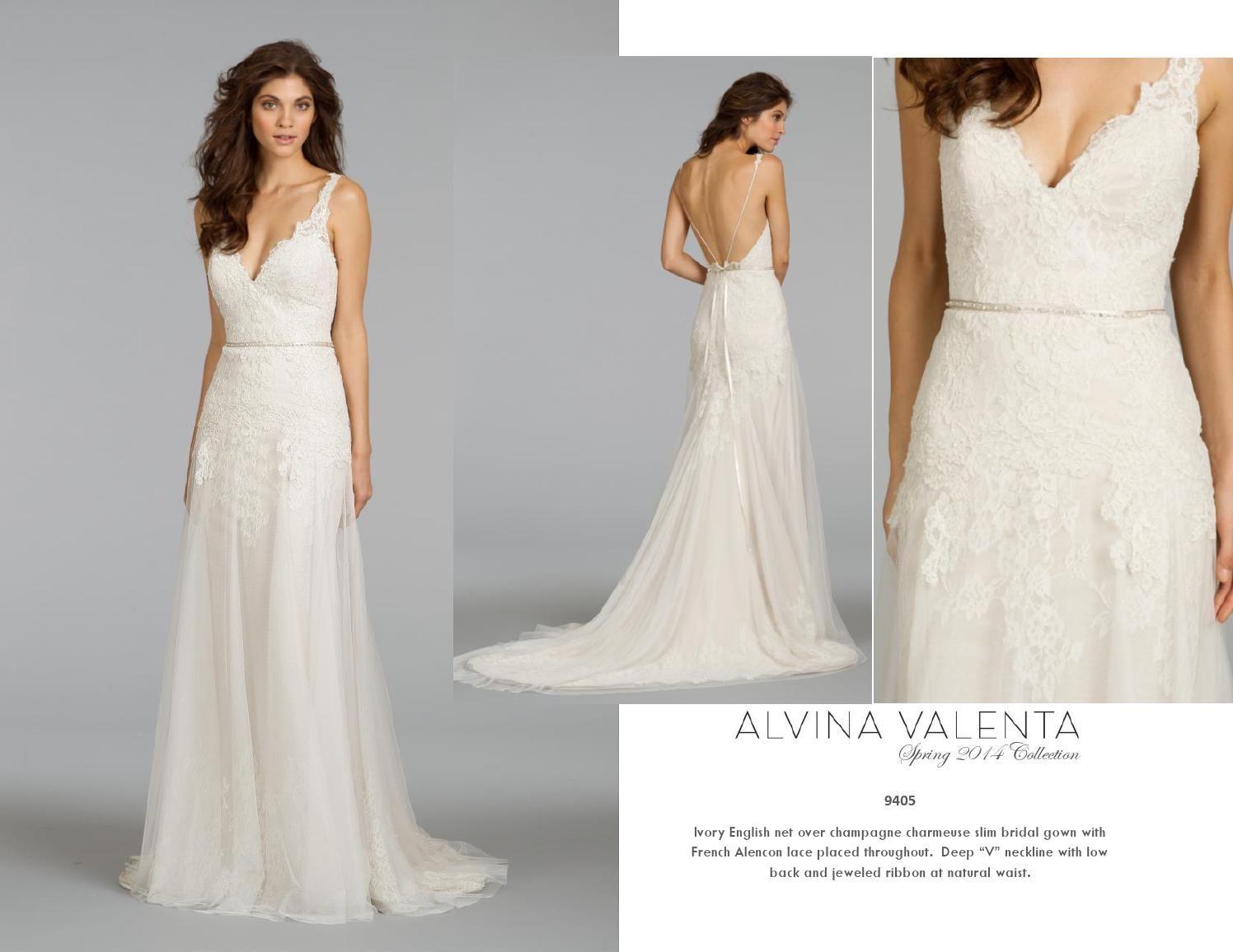 Alvina Valenta Spring 2014 Bridal Gown Collection – Part 4 Alvina Valenta Spring 2014 Bridal Gown Collection – Part 4 new photo