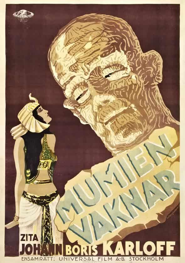 Mumien Vaknar