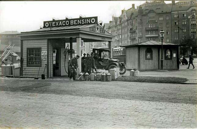 1920s TEXACO GENERAL STORE Photo