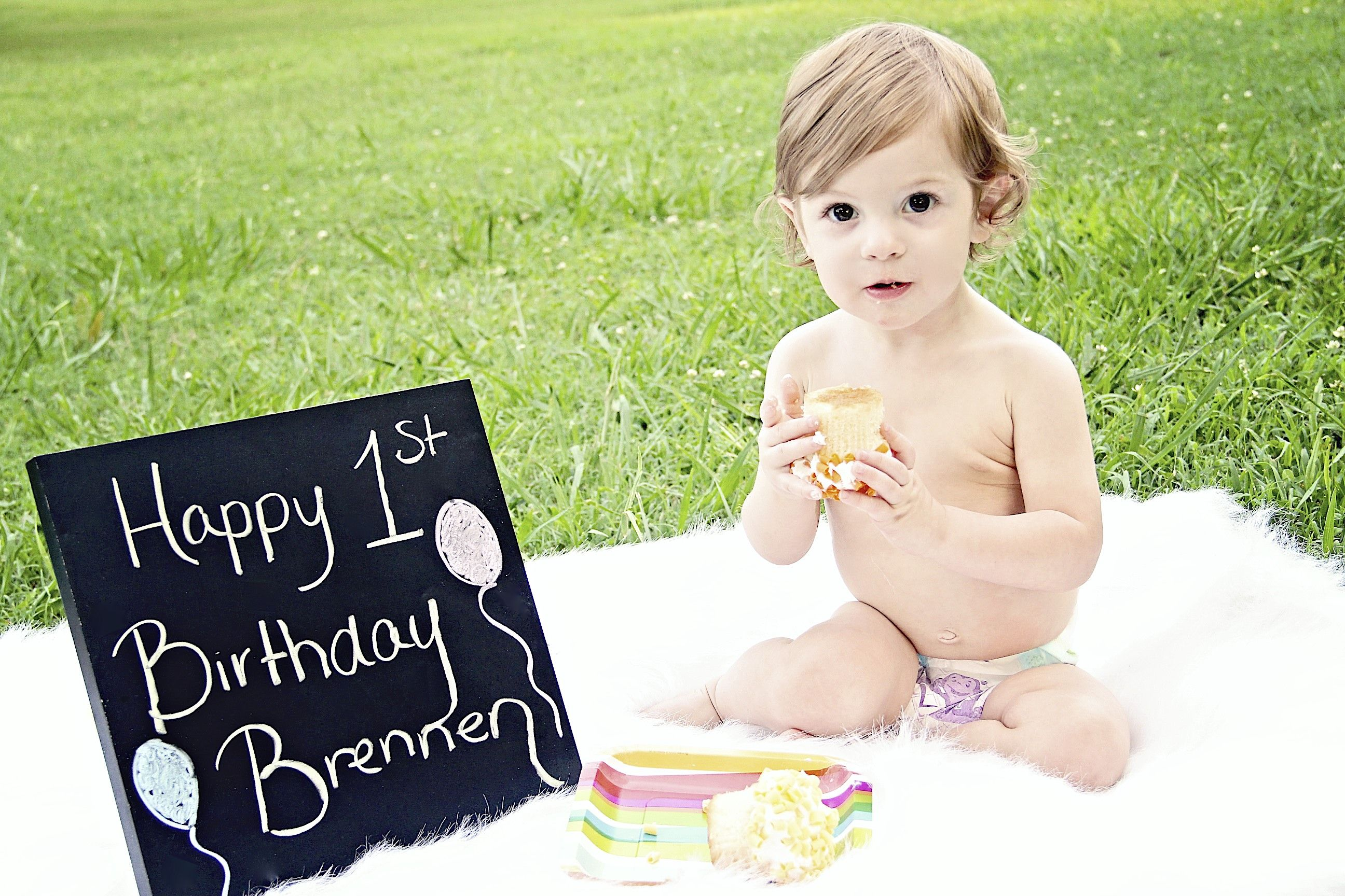 Brennens 1st Birthday Chattanooga TN Baby Girl Parties