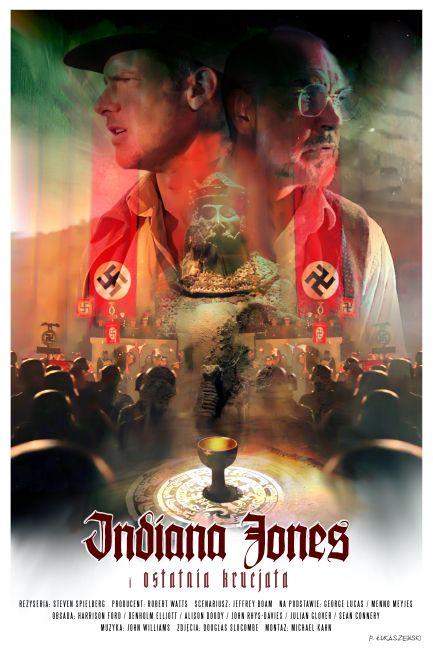 INDIANA JONES AND THE LAST CRUSADE - poster by P-Lukaszewski