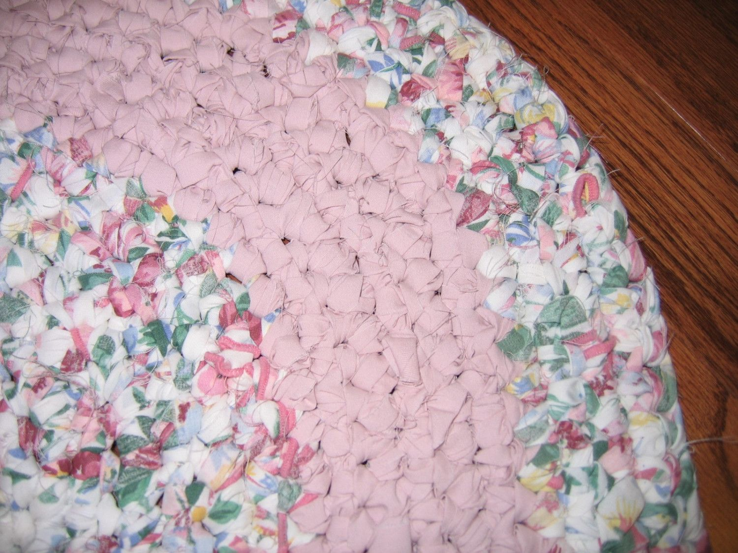 Image Detail For Crocheted Oval Rag Rug By Raggedyanns Braided Rag Rugs Crochet Rag Rug Rag Rug Diy