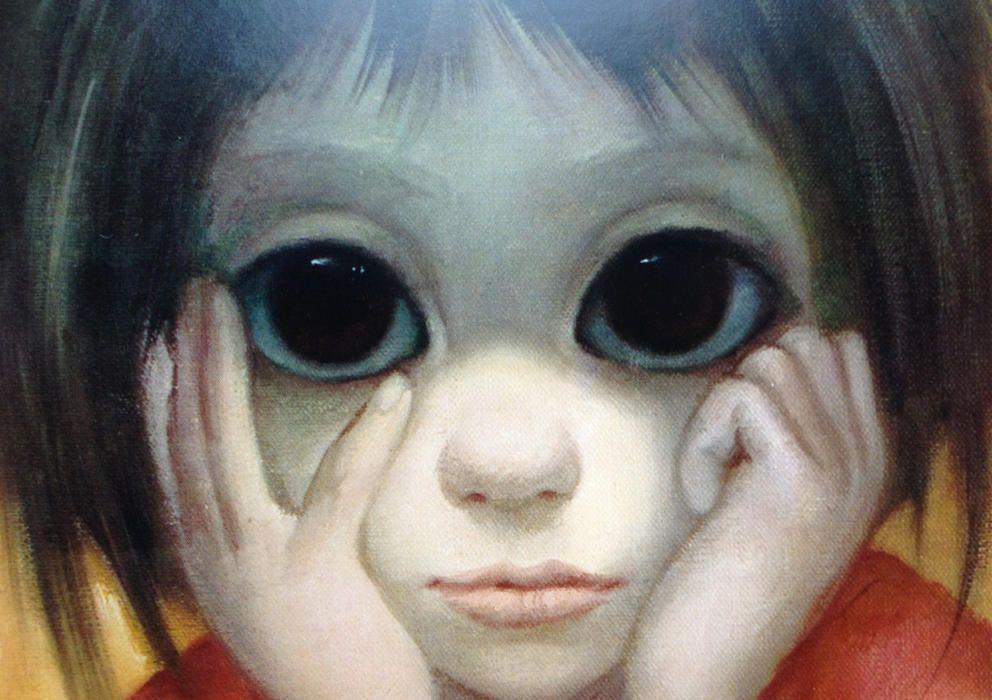 Los Ojos Que Conmovieron A Tim Burton Pintura De Ojo Maquillaje De Ojo Grande Arte Para Ojos