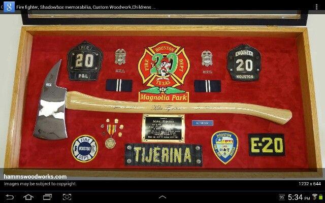 Firefighter' Axe Display | Firefighter | Firefighter bedroom