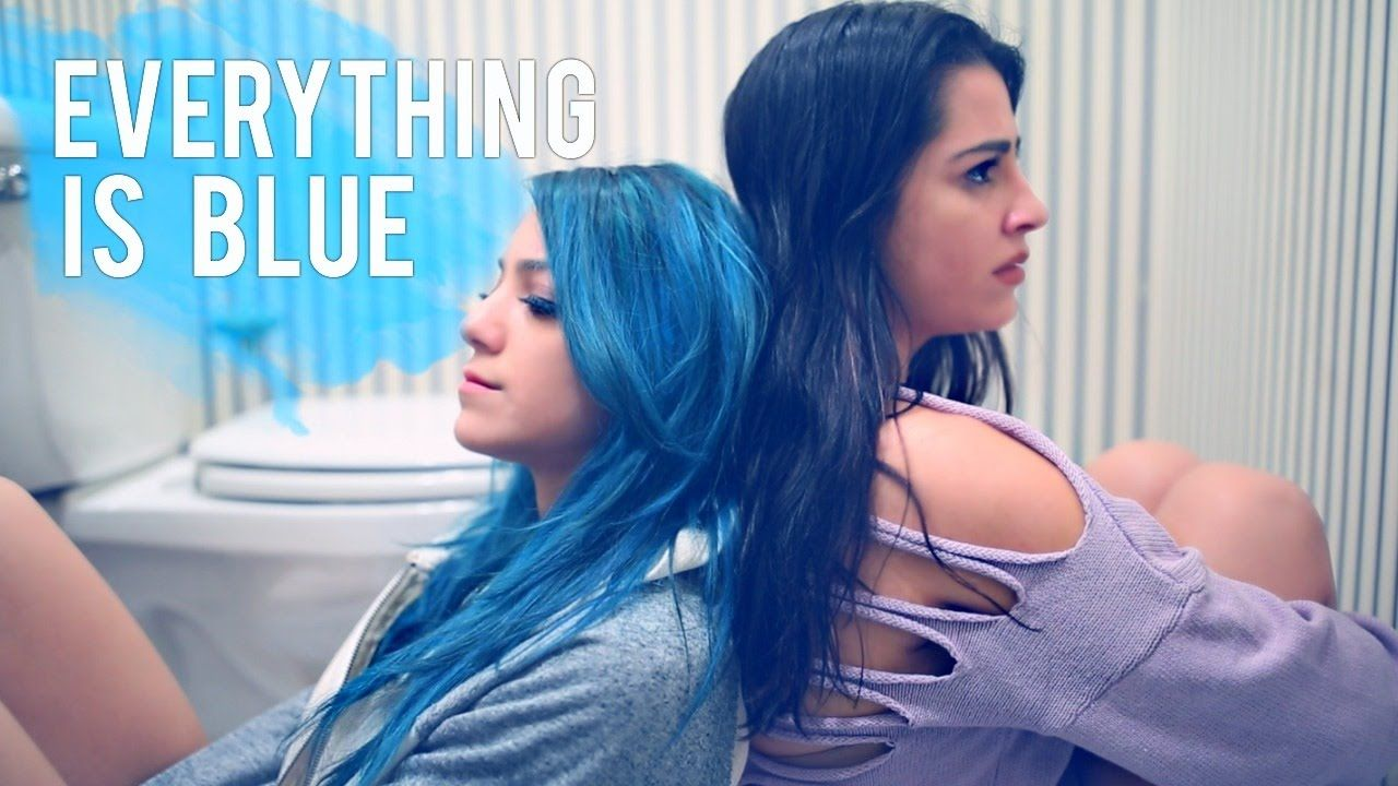 Everything is blue niki demar niki and gabi pinterest halsey