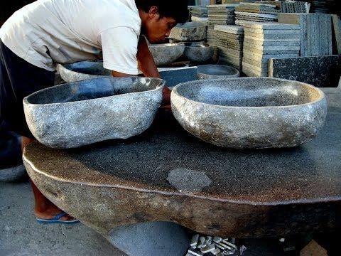 Stone sink rocks wash basins lavabos de piedra natural - Lavamanos de piedra ...