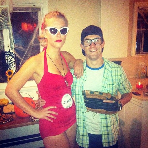 50 Last-Minute Couples Costumes That Require Little to No Effort - mens halloween costume ideas 2013