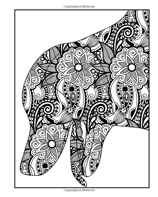 Amazon.com: Dog Coloring Book for Adults: Dog Coloring Book  Featuring 40 Stress Relieving Paisley and Henna Pattern Coloring Pages (Animals) (Volume 2) (9781530461752): Coloring Books Now: Books